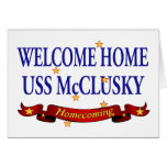 USS casero agradable McClusky Tarjetón