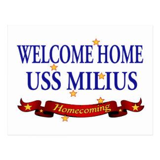 USS casero agradable Milius Tarjetas Postales