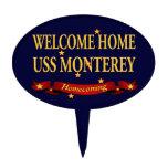 USS casero agradable Monterey Decoraciones De Tartas
