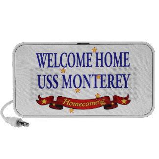 USS casero agradable Monterey Laptop Altavoces