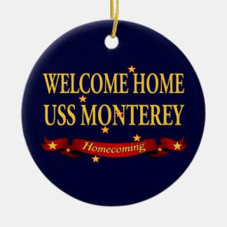 USS casero agradable Monterey Ornamento Para Arbol De Navidad