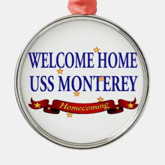USS casero agradable Monterey Ornamento De Reyes Magos