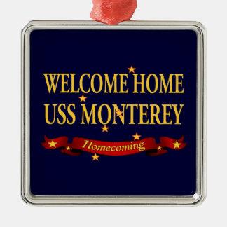 USS casero agradable Monterey Ornaments Para Arbol De Navidad
