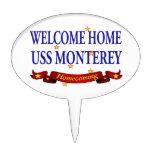 USS casero agradable Monterey Figuras Para Tartas