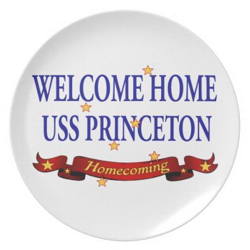 USS casero agradable Princeton Plato De Cena