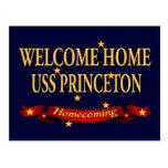 USS casero agradable Princeton Postales
