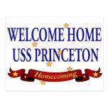 USS casero agradable Princeton Tarjetas Postales