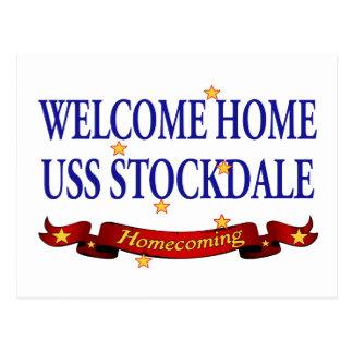 USS casero agradable Stockdale Tarjeta Postal