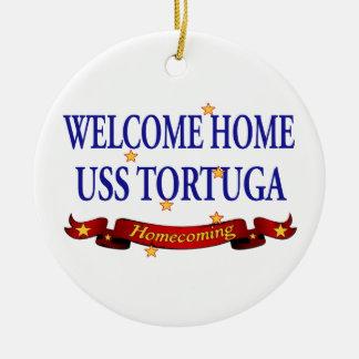 USS casero agradable Tortuga Ornamentos De Reyes Magos