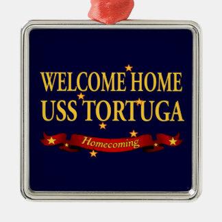 USS casero agradable Tortuga Adorno