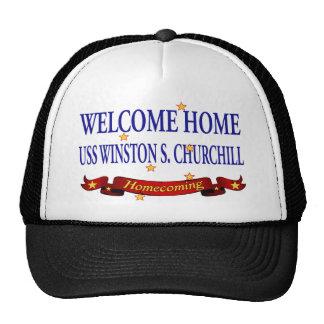 USS casero agradable Winston S. Churchill Gorras De Camionero