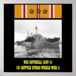 USS CATSKILL (LSV-1) POSTER