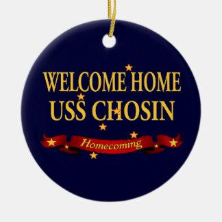USS Chosin casero agradable Ornamento Para Arbol De Navidad