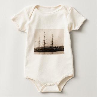 USS Constellation 1855 Baby Bodysuit