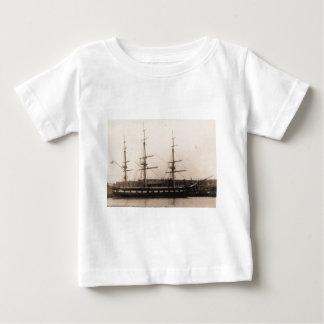 USS Constellation 1855 Baby T-Shirt
