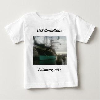 USS Constellation Baby T-Shirt
