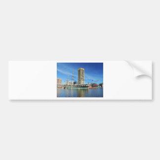 USS Constellation Baltimore Bumper Sticker