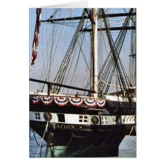 USS Constellation Card