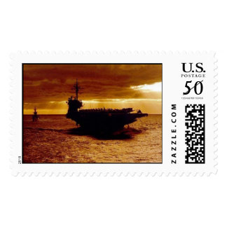 USS Constellation CV-64 Postage