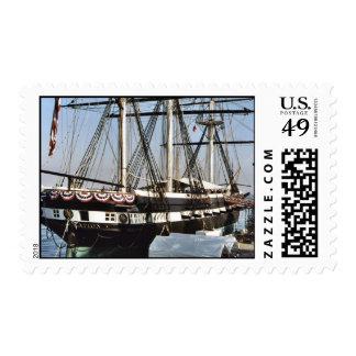 USS Constellation Postage