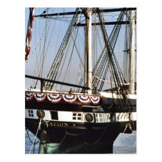 USS Constellation Postcard