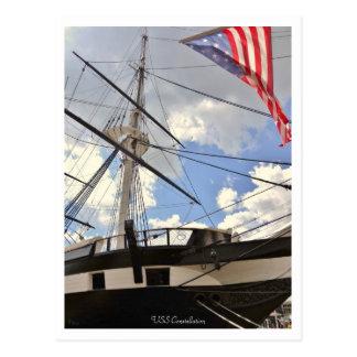 USS Constellation Tall Ship Baltimore Inner Harbor Postcard