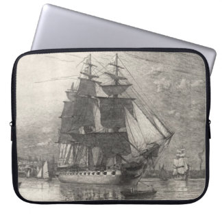 USS Constitution 1911 Laptop Computer Sleeves