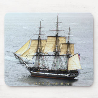 USS Constitution at Full Mask Mouse Pad