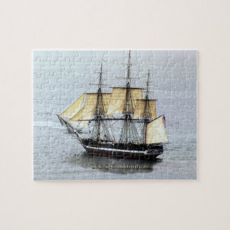 USS Constitution at Full Mask Jigsaw Puzzles