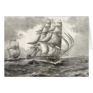 USS Constitution Card