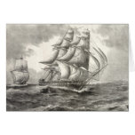 USS Constitution Greeting Cards
