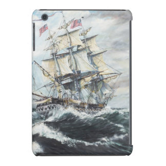 USS Constitution heads for HM Frigate Guerriere iPad Mini Retina Cover