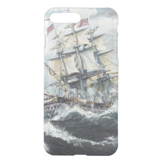 USS Constitution heads for HM Frigate Guerriere iPhone 8 Plus/7 Plus Case