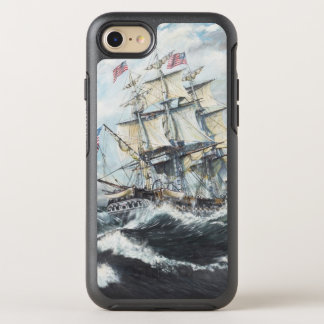 USS Constitution heads for HM Frigate Guerriere OtterBox Symmetry iPhone 7 Case