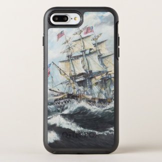 USS Constitution heads for HM Frigate Guerriere OtterBox Symmetry iPhone 7 Plus Case