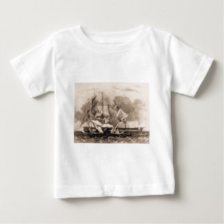 USS Constitution in action Baby T-Shirt