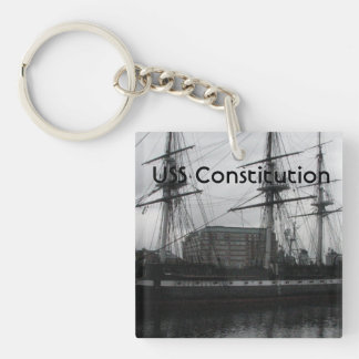 USS Constitution Acrylic Key Chains