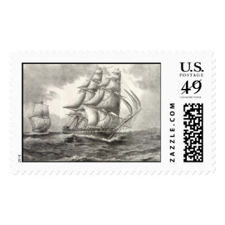 USS Constitution Postage Stamp