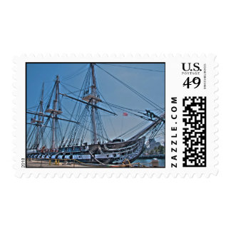 USS Constitution Postage Stamps