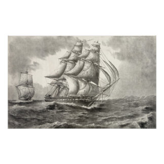 USS Constitution Poster