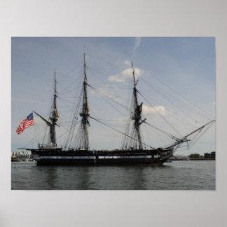USS Constitution Print