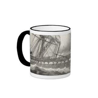 USS Constitution Ringer Mug
