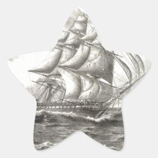 USS Constitution Star Sticker