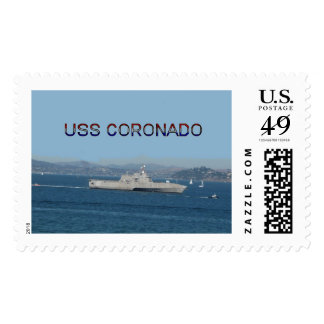 USS Coronado Postage