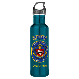 USS Corpus Christi SSN-705 Custom Liberty Bottle