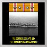 USS COWPENS (CV / CVL-25) POSTER