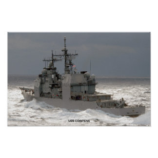 USS Cowpens Póster