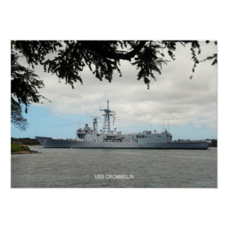 USS Crommelin Poster