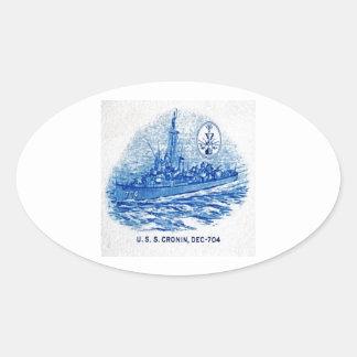 USS CRONIN Design Sticker