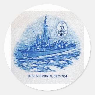 USS CRONIN Design Stickers